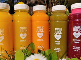 Absolute Juice website